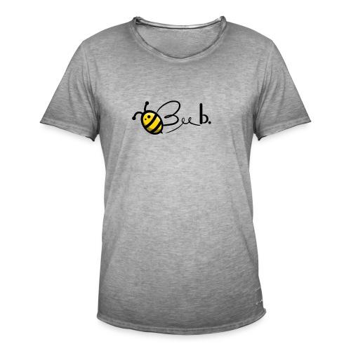 Bee b. Logo - Men's Vintage T-Shirt