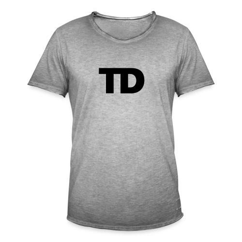 TD chest - Mannen Vintage T-shirt