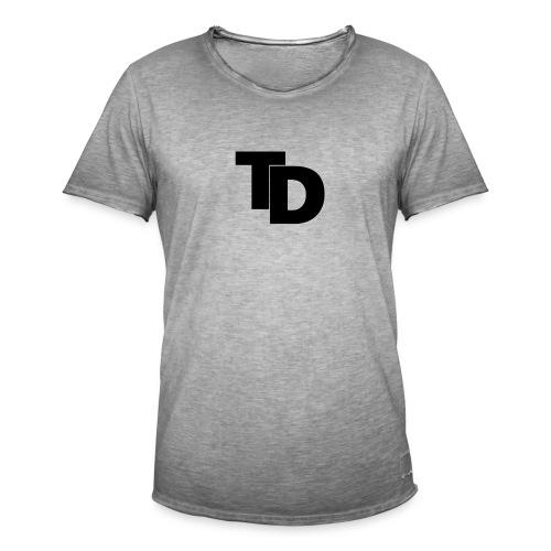 Topdown - premium shirt - Mannen Vintage T-shirt