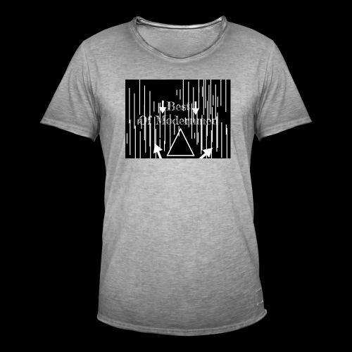 Bestofmodernmen - Maglietta vintage da uomo
