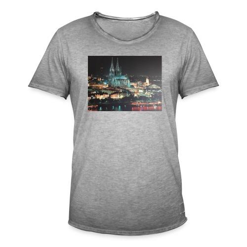 Kölner Dom - Männer Vintage T-Shirt