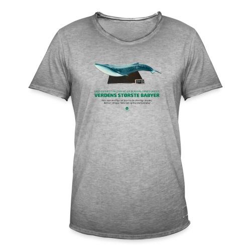 Blåhvalens unger - Herre vintage T-shirt