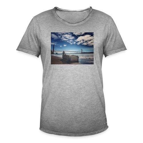 poncio - Camiseta vintage hombre