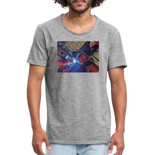 Duo welding - Mannen Vintage T-shirt