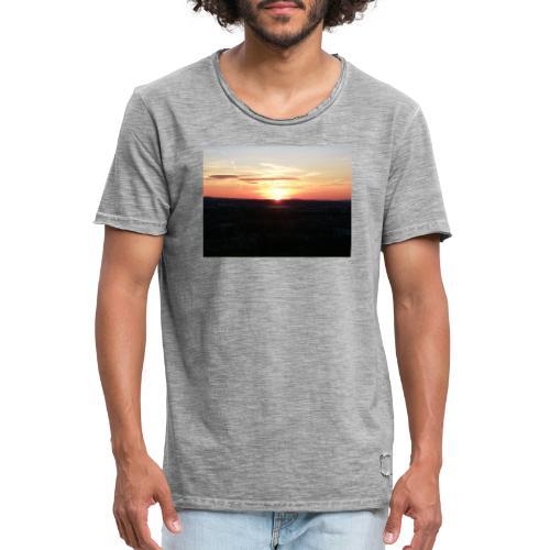 sonnenuntergang - Männer Vintage T-Shirt