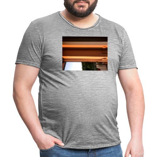 Sonnenstrahlen - Männer Vintage T-Shirt