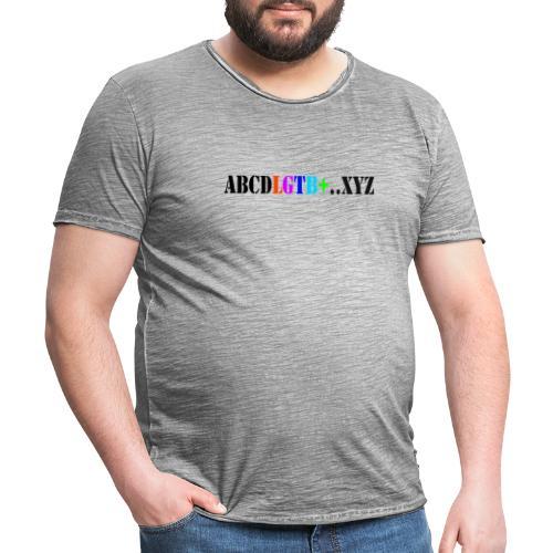 lgtb - Camiseta vintage hombre