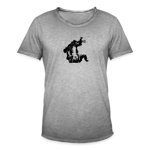 Jutsu v2 - Mannen Vintage T-shirt
