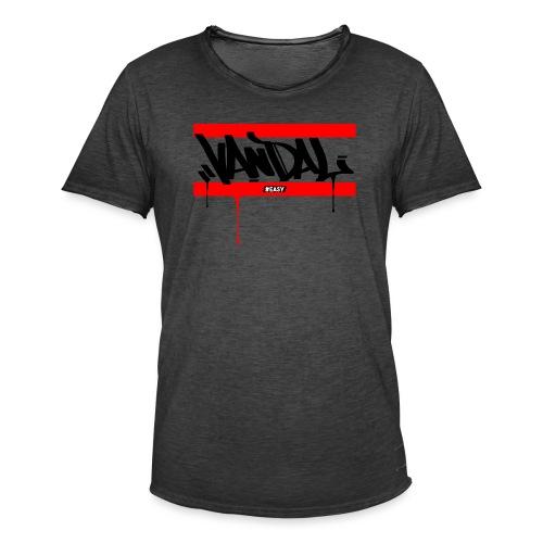 #EASY Graffiti Vandal T-Shirt - Maglietta vintage da uomo