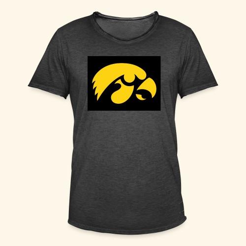 YellowHawk shirt - Mannen Vintage T-shirt