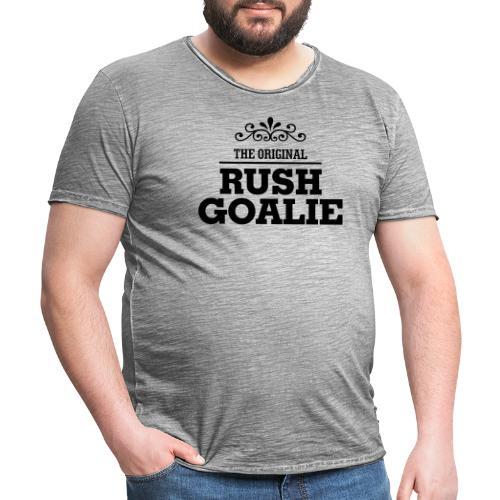 The Original Rush Goalie - Men's Vintage T-Shirt