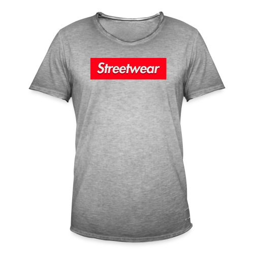 Streetwear ® - Vintage-T-skjorte for menn