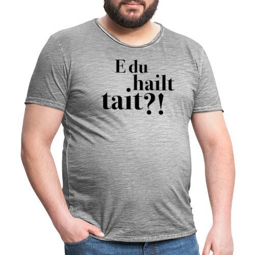 Hailttait - Vintage-T-skjorte for menn