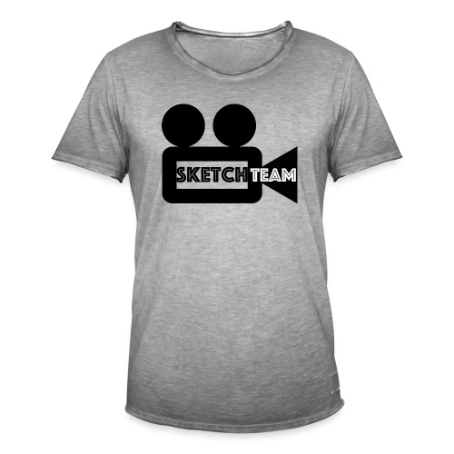 SketchTeam Logga T-shirt - Vintage-T-shirt herr