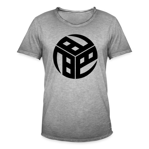 Mitsudomoe Symbol (stylisiert) - Männer Vintage T-Shirt