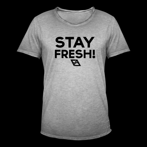 STAY FRESH! T-paita - Miesten vintage t-paita