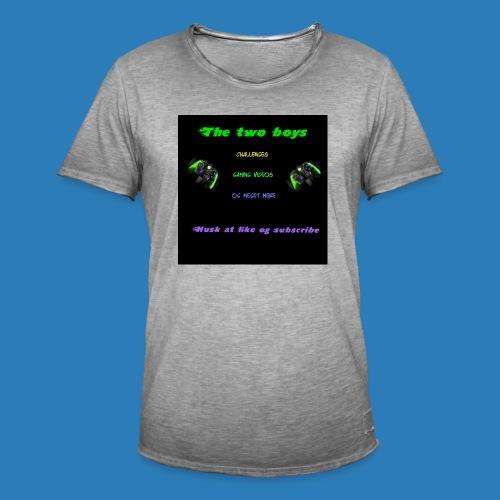 LUISJAKUBINTRO-jpg - Herre vintage T-shirt