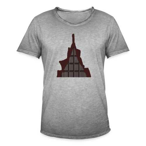 Vraiment, tablette de chocolat ! - T-shirt vintage Homme