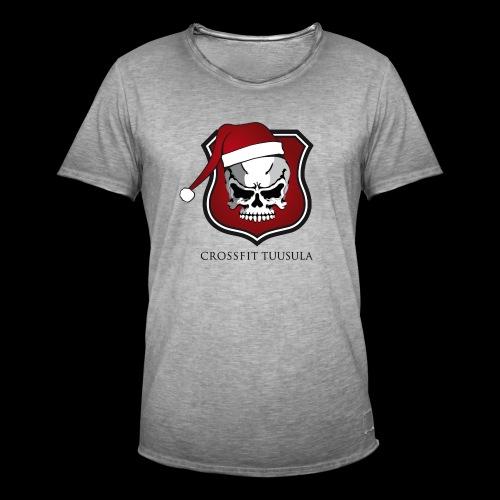 CrossFit Tuusula Xmas - Miesten vintage t-paita