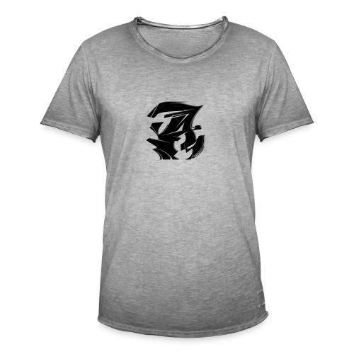 Abraham A - Männer Vintage T-Shirt