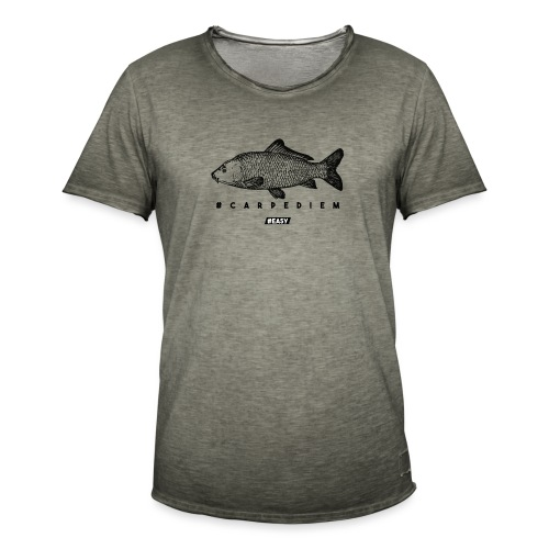 #EASY Carpe Diem T-Shirt - Maglietta vintage da uomo