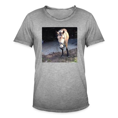 Häst - Vintage-T-shirt herr