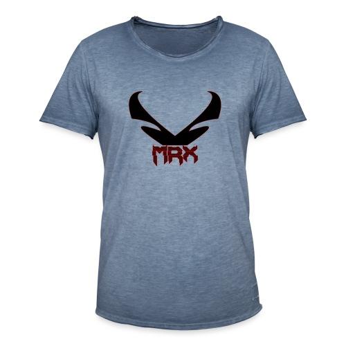 Black MRX - Männer Vintage T-Shirt
