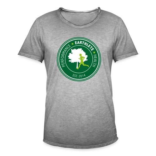 EARTHLETE Brand Logo - Herre vintage T-shirt
