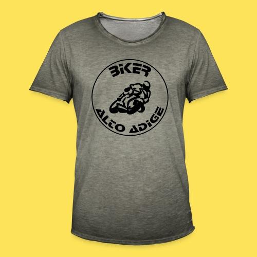 BikerAltoAdige Circle - Maglietta vintage da uomo