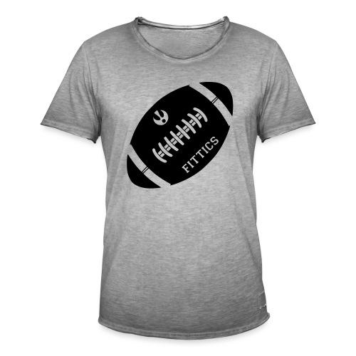 Fittics American Football - Men's Vintage T-Shirt