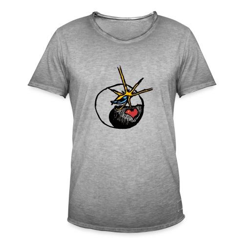 Mindfackt logo - Miesten vintage t-paita