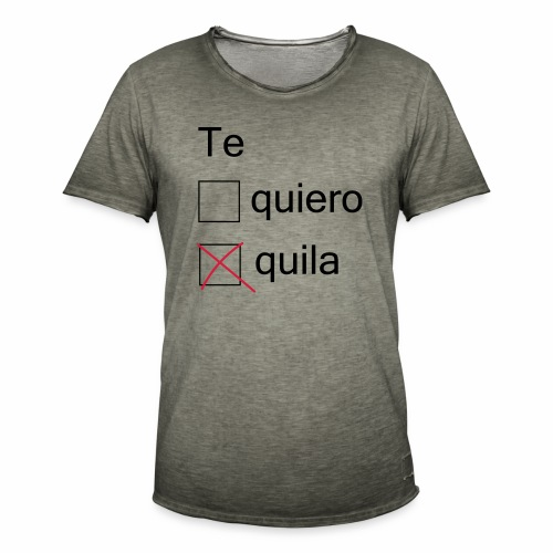 tequila - T-shirt vintage Homme
