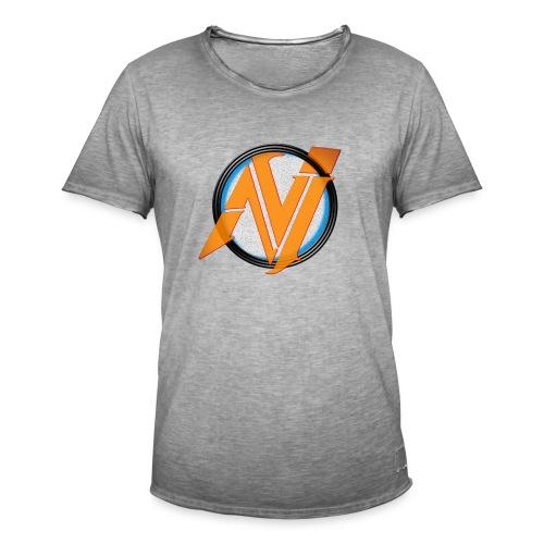 invi.rocks Logo - Männer Vintage T-Shirt