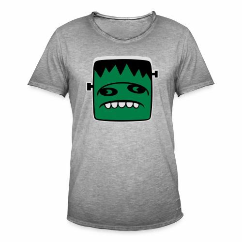 Fonster Weisser Rand ohne Text - Männer Vintage T-Shirt