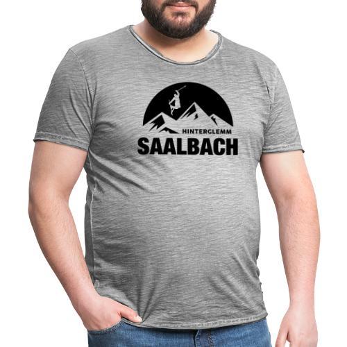 Summit Saalbach - Mannen Vintage T-shirt