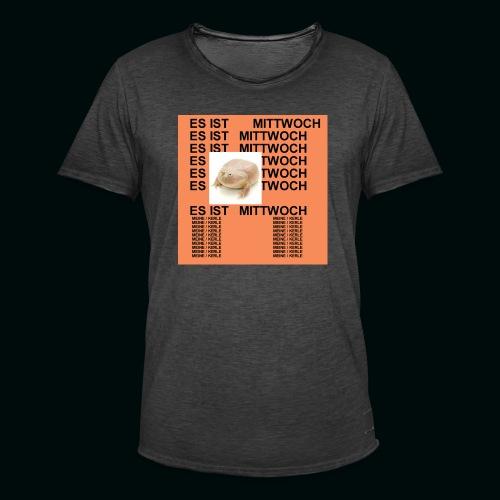 Leben des Mittwochs - Männer Vintage T-Shirt