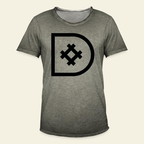 Icona de #ildazioètratto - Maglietta vintage da uomo