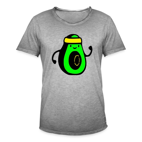 aguacate ninja - Camiseta vintage hombre