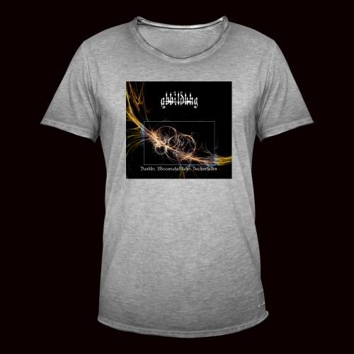 ABBILDUNG - Dark Scientific... - Mannen Vintage T-shirt