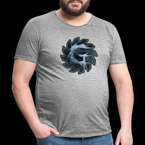 Glimmer logo 2019 v2 - Vintage-T-skjorte for menn