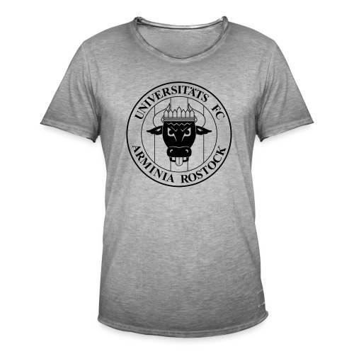 UFC Logo nur schwarz - Männer Vintage T-Shirt