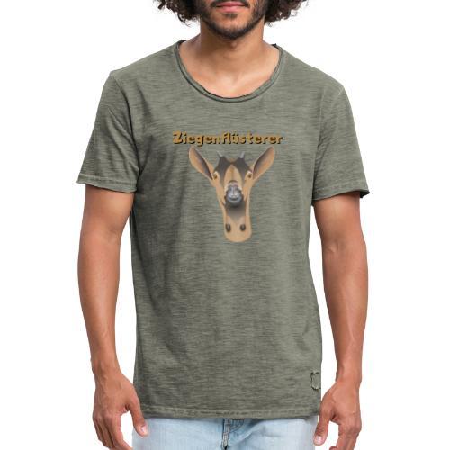 Ziegenflüsterer - Männer Vintage T-Shirt