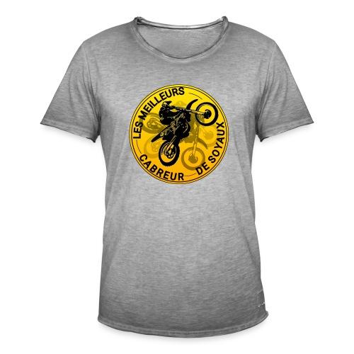 T-shirt MeilleursCrabreursDeSoyaux officielle - T-shirt vintage Homme