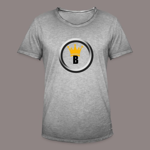 Bernado Logo Produkte - Männer Vintage T-Shirt