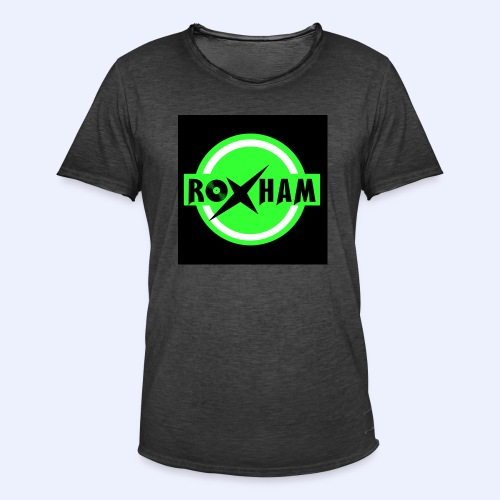 RoxHam-Button-2019 - Männer Vintage T-Shirt