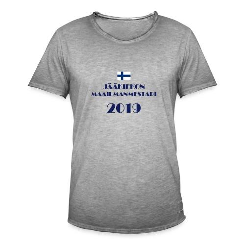 Jääkiekon maailmanmestari 2019 - Miesten vintage t-paita