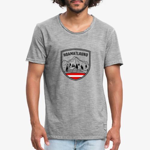 hoamatlaund logo - Männer Vintage T-Shirt