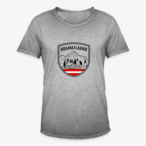 hoamatlaund österreich - Männer Vintage T-Shirt