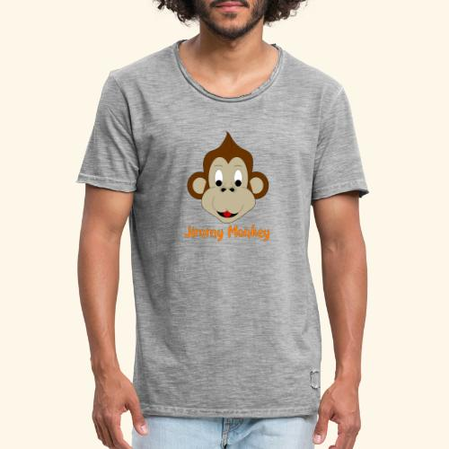 Jimmy Monkey - T-shirt vintage Homme