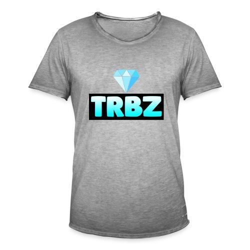 TRBZ big logo with diamond - Vintage-T-shirt herr